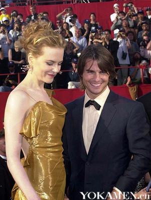 基德曼与阿汤哥2000年出席奥斯卡,第二年两人离婚。