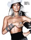 众超模压轴12月时尚杂志 米兰达领衔露美臀