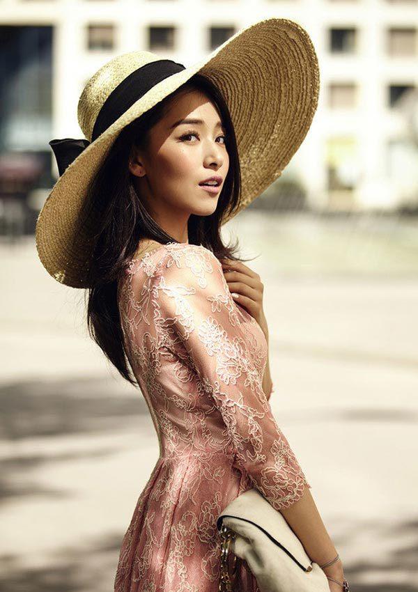 中国版 继承者们 女主演阚清子最新写真图片