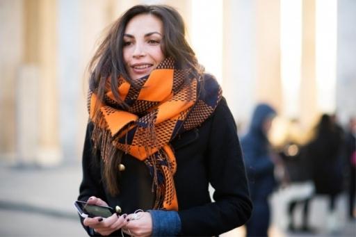 精彩的巴黎街头 2013 巴黎时装周秋冬季街拍(17)