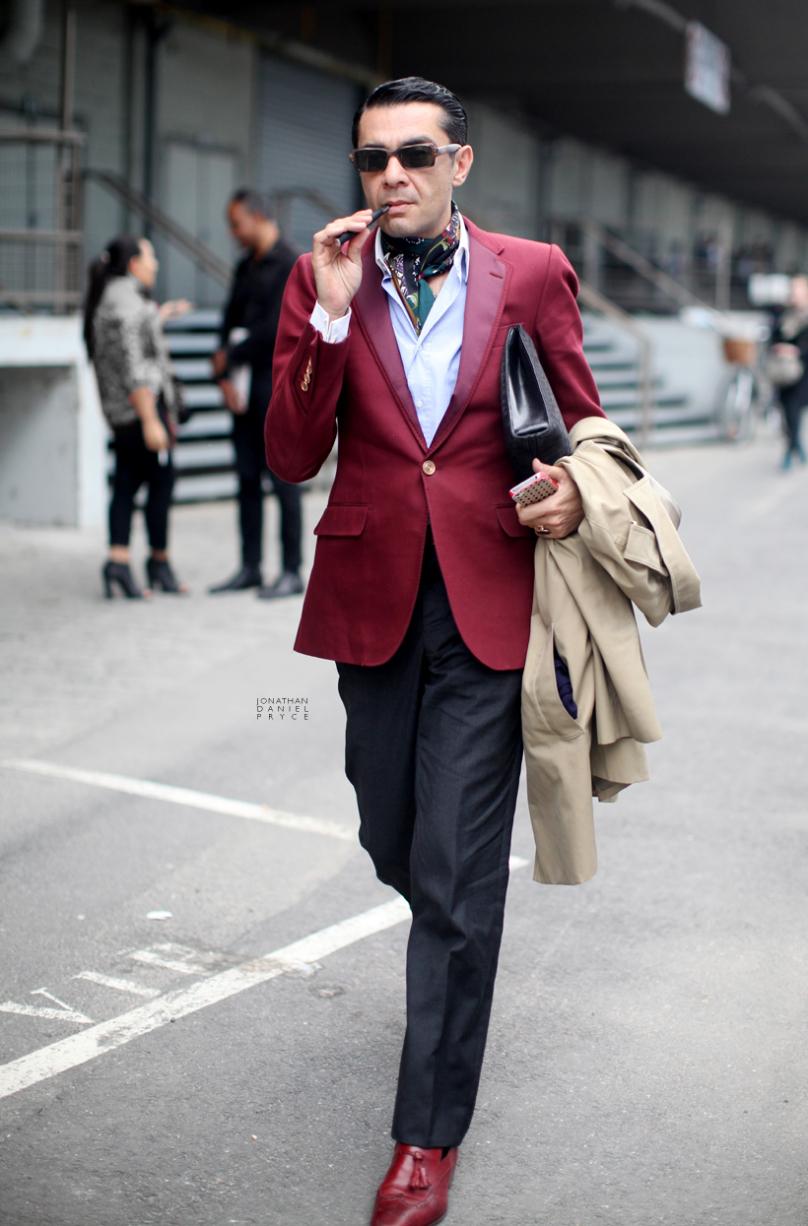 潮男还是怪咖?欧美街头个性穿衣赚足眼球